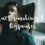 quit smoking by hypnosis man refraining to light a cigarette
